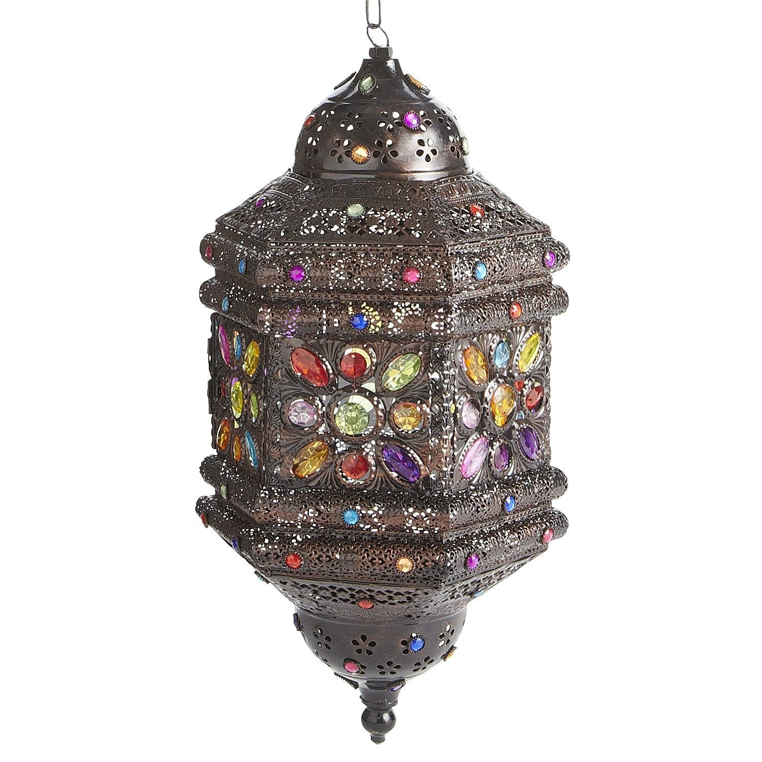 I wish I could find a place to hang this Caravan Gem Hanging Lantern from Pier 1 Imports but I think it would look strange to hang something like this in ...  sc 1 st  Pinterest & I wish I could find a place to hang this Caravan Gem Hanging ... azcodes.com