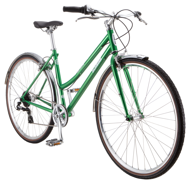 Schwinn Collegiate Urban Hybrid Bike 8 Speeds 700c Wheels Women S 17 Inch Frame Green Walmart Com Walmart Com In 2020 Hybrid Bike Hybrid Bicycle Schwinn Bike