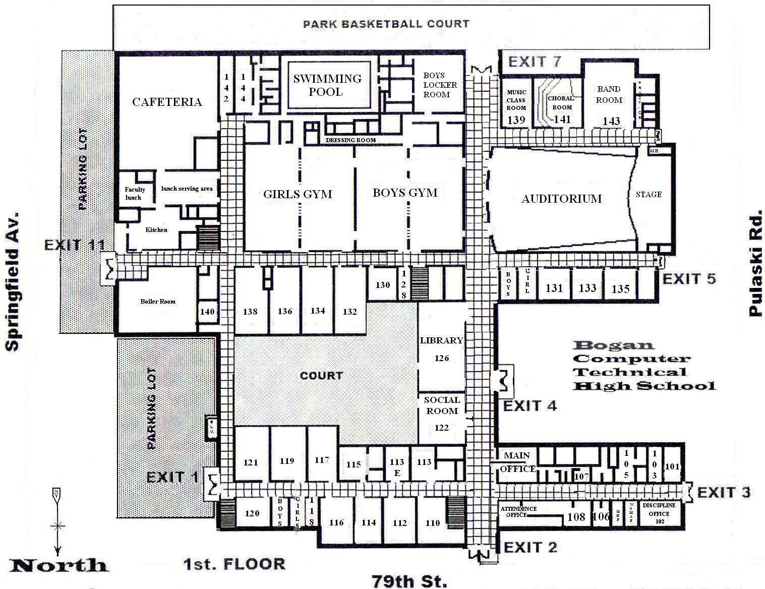 School Building Plans And Designs Atherton High School Building ...