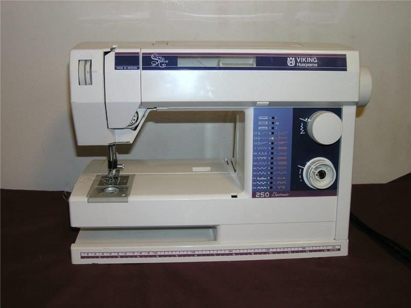 Viking husqvarna sewing machine free arm sew easy