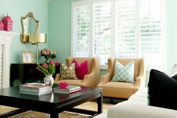Mint green wall paint can refresh the walls of your home images