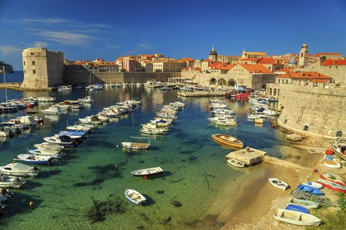 Dubrovnik, Kroatien an der Adria