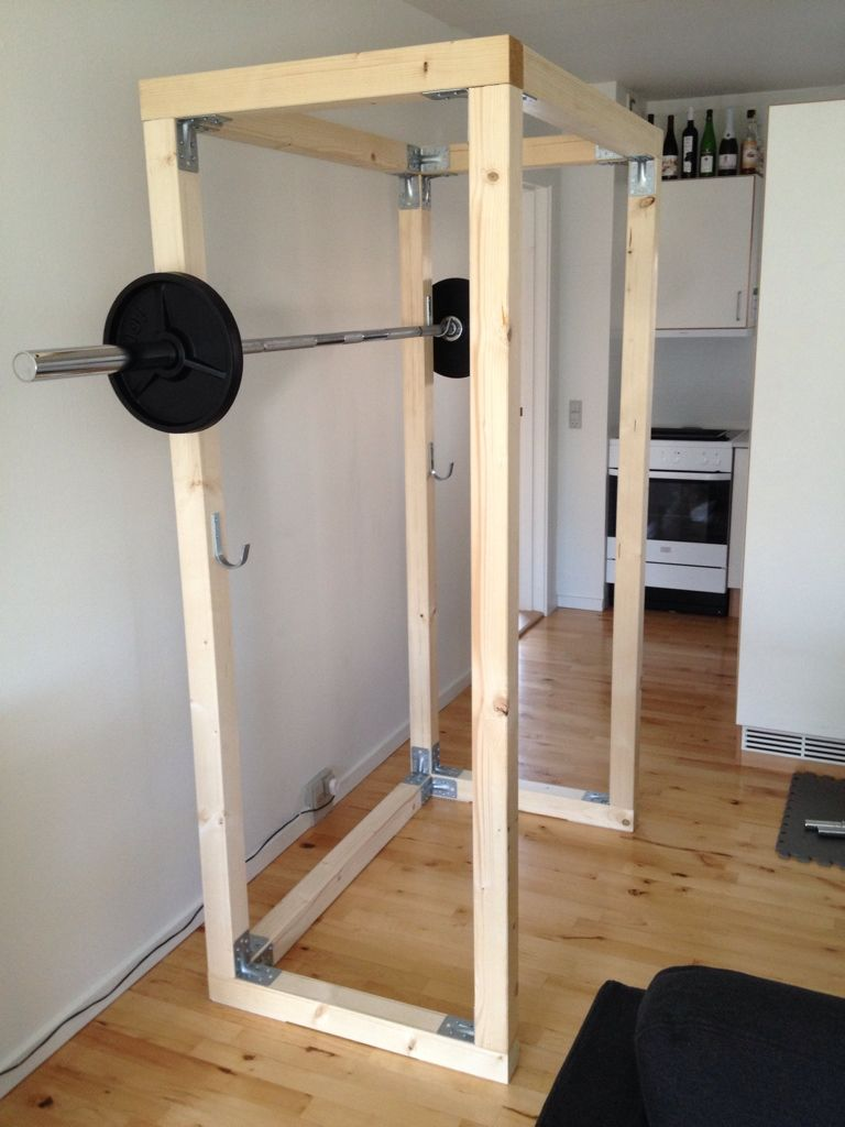 Do It Yourself Power Rack Diy Home Gym At Home Gym Home