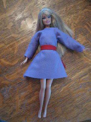 Almost Unschoolers Simple Felt Barbie Clothes Craft Ideas
