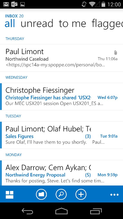 Microsoft Announces Outlook Web App (OWA) For Android