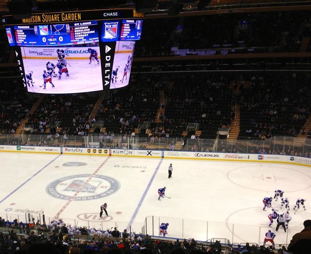 Nyc Arena Madison Square Garden Pays No Property Taxes Madison Square Garden Madison Square Rangers Tickets