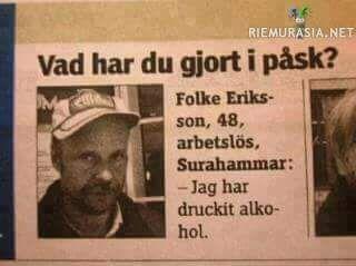 Mitenniin ruotsalaisten juomatavoissa on paljon eroa suomalaisiin?