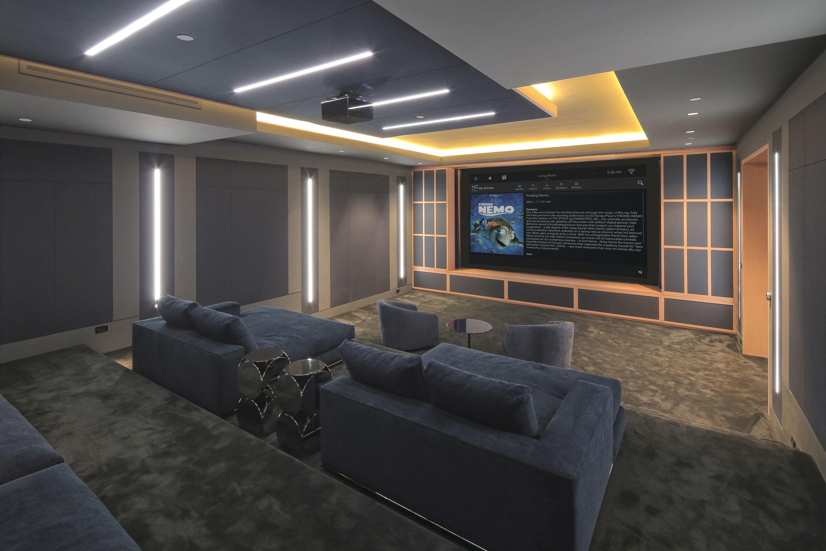 Pin von Futurian Systems auf Media/Theater Rooms | Pinterest