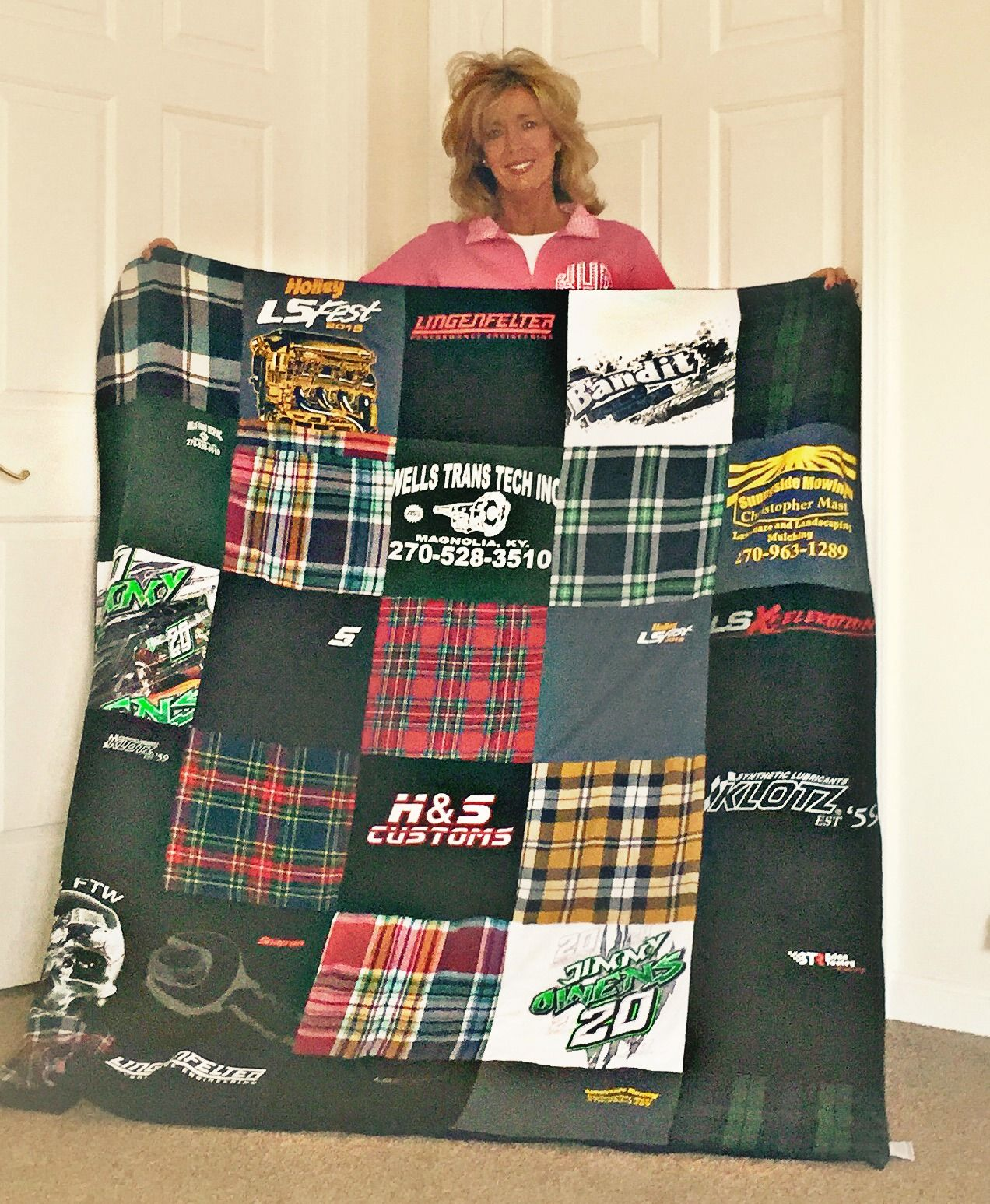 I love my quilt with my late son's flannels and t-shirts made by ... : repat quilts - Adamdwight.com