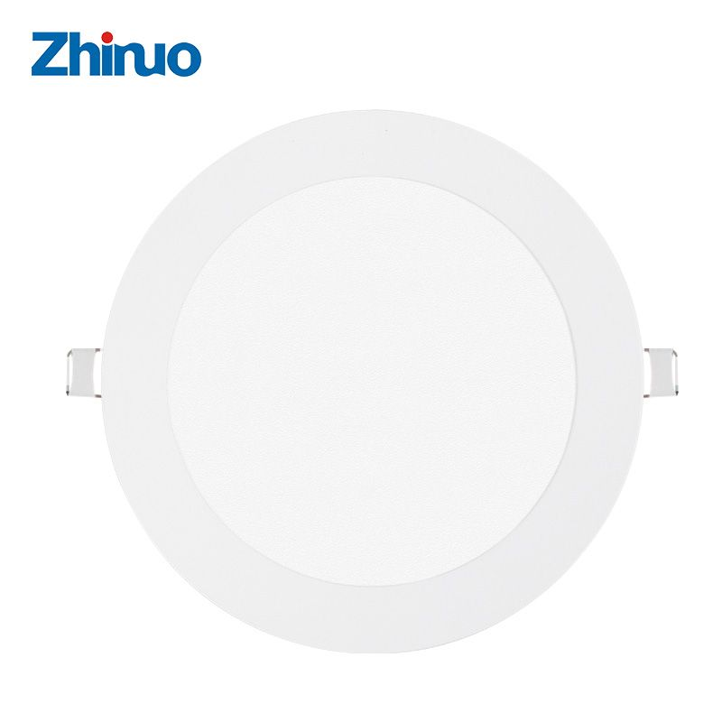 Zhinuo 6w 12w 18w 24w Round Led Panel Light Surface Mounted Leds Downlight Ceiling Down Lampada Led Lamp 110v 220v Led Panel Light Ceiling Lights Led Panel