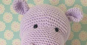 Nilpferdhäkelnanleitungkostenlos Tiere Aus Wolle Pinterest