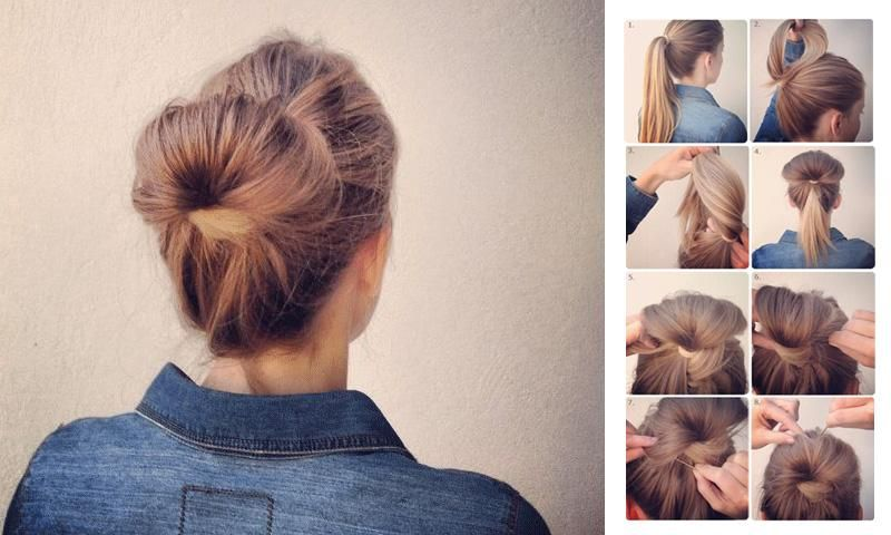 Girls Easy Hairstyles Steps Apk Download Free Lifestyle App For Android Easy Hairstyles Hair Styles Stylish Hair