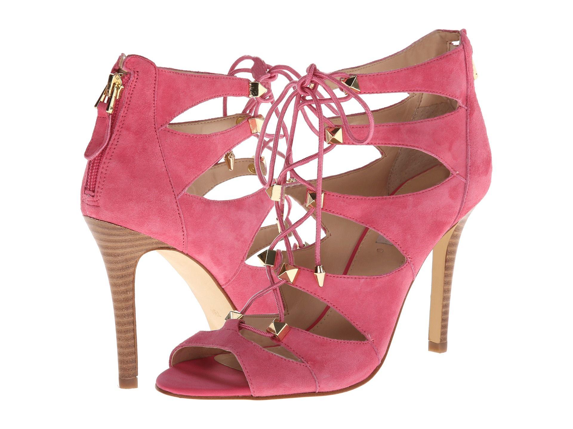 7978c3a72b99 GUESS Legari Pink Suede - Zappos.com Free Shipping BOTH Ways  110.00 ...