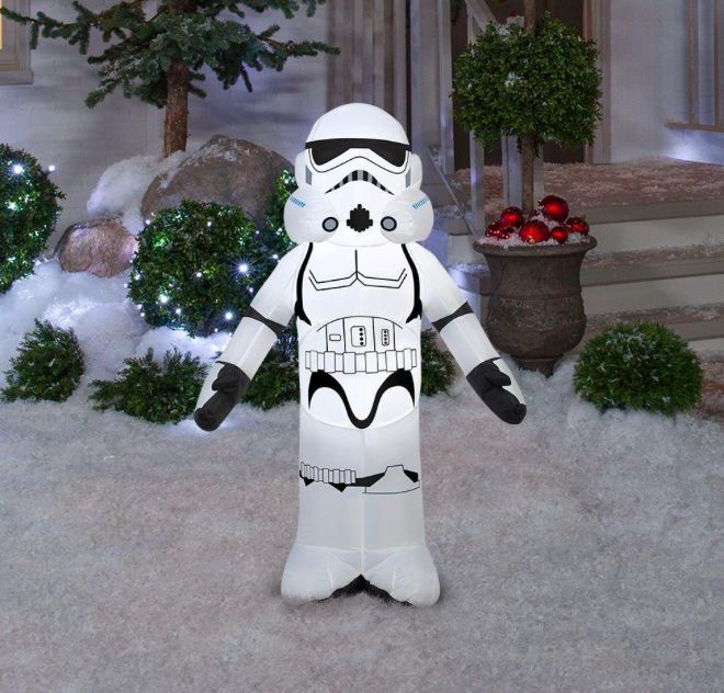 35 ft Inflatable Storm Trooper Star Wars Theme Airblown Christmas - inflatable christmas yard decorations