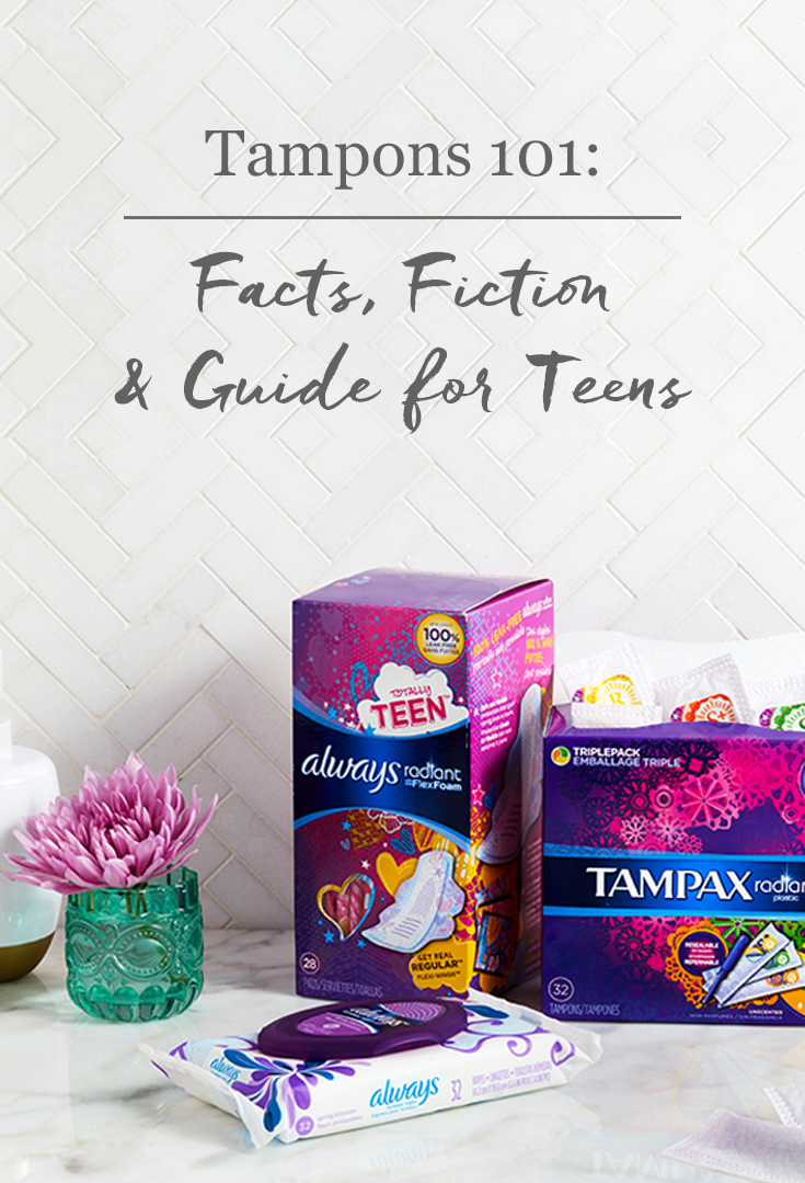 how to use tampons for teenagers