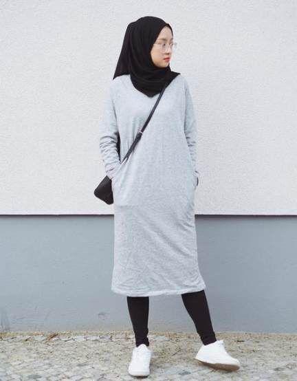 Style Hijab Remaja Gemuk 65+ Ideas #style   Casual hijab ...