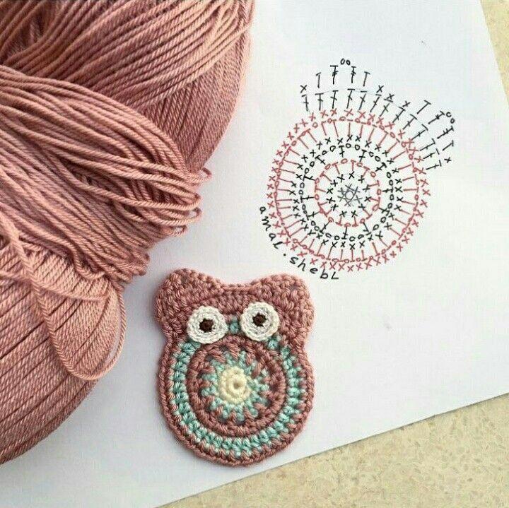 Pin de Mónika Gómez en patrones | Pinterest | Ganchillo, Apliques y ...
