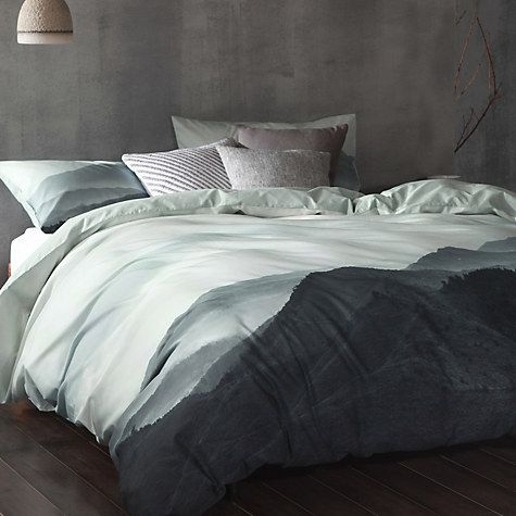 Cloth Clay Nordic Nights Nyoka Duvet Cover And Pillowcase Set Online At Johnlewis