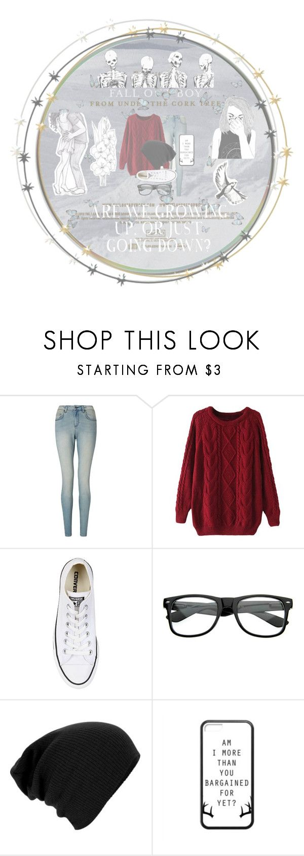 """""""☆from under the cork tree☆"""" by youre-555-im-666 ❤ liked on Polyvore featuring John Lewis and Converse"""