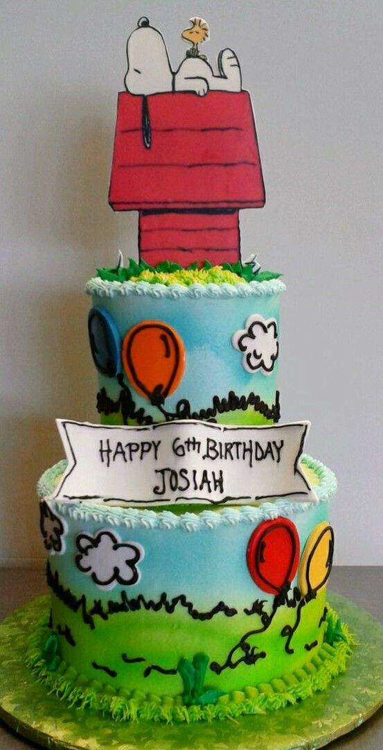 My Mom would DIE Snoopy cake Neat Ideas Pinterest Snoopy cake