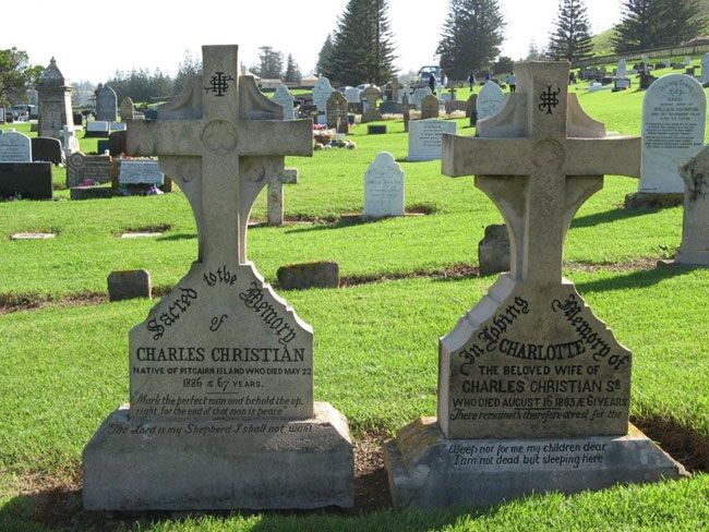 Pitcairn Island Grave Of Fletcher Christian Google Search - Pitcairn island one beautiful places earth