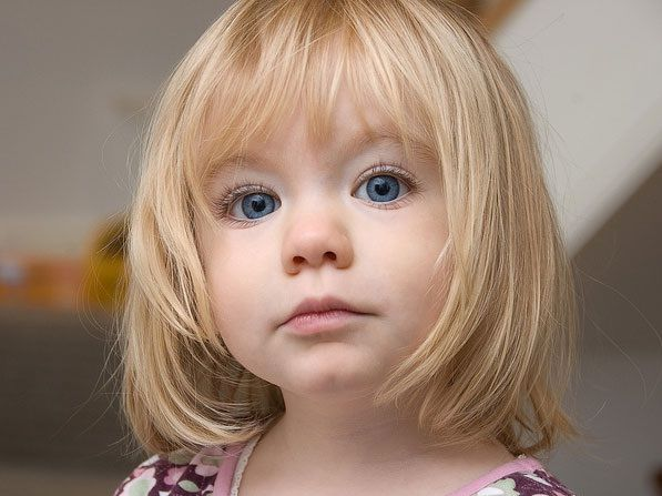Short Hairstyles For Little Girls With Bangs | Fashion Blog | For ...