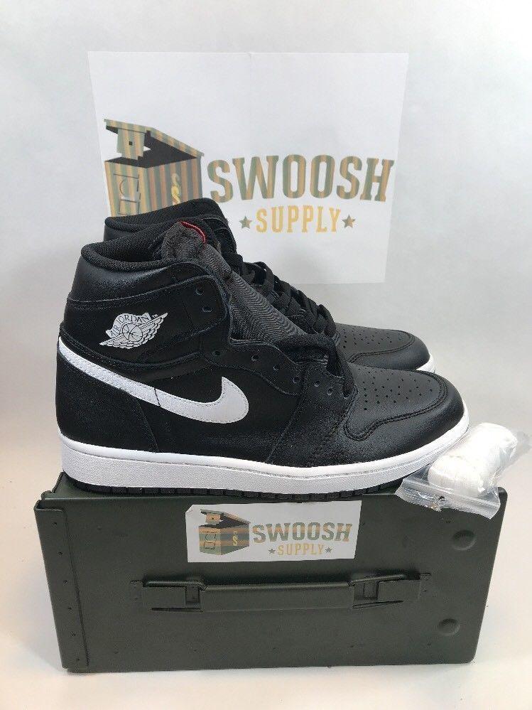 fd6f1be27c5aef Air Jordan 1 Retro High OG Ying Yang Black White 555088-011 Men s Sizes   Nike  BasketballShoes
