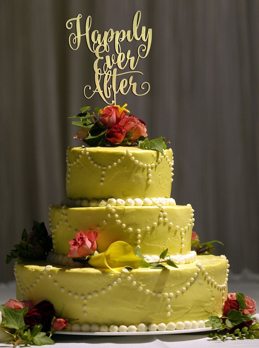 This beautiful Cake topper by Woodword Design Studio. | Dream ...