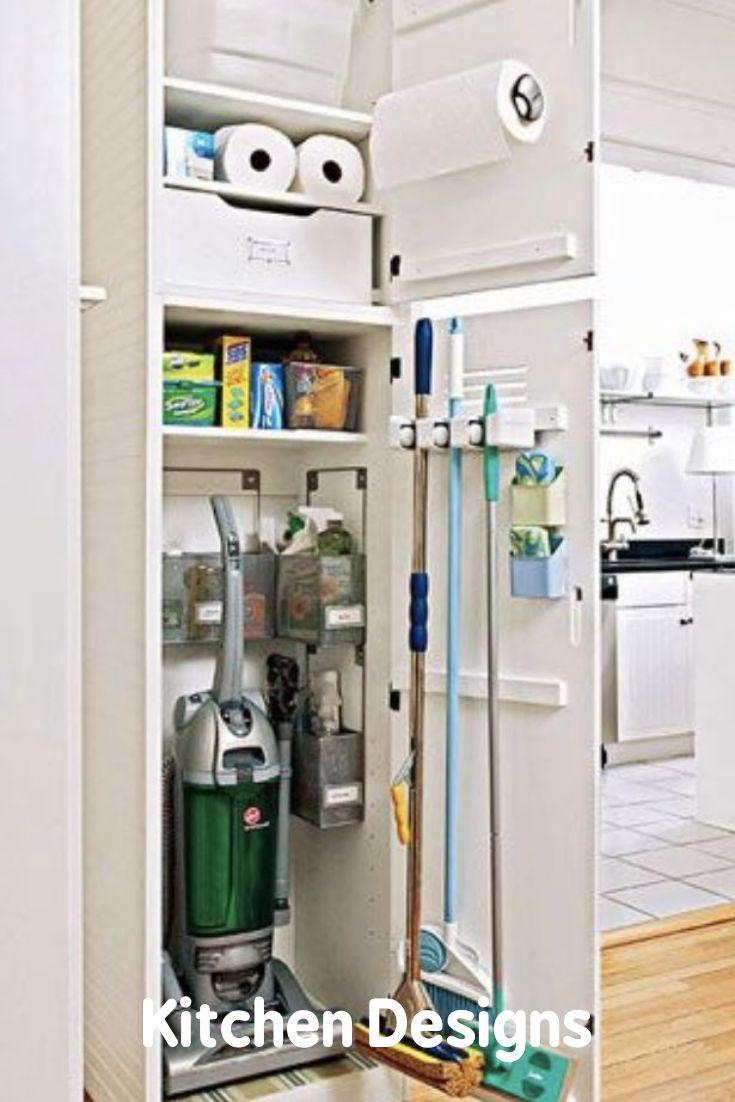 Kitchen That Leads Us To Making A Simple System To Help You Make The Best Use Out Of That Sp In 2020 Werkzeugschrank Putzmittel Organisieren Waschkuchenorganisation