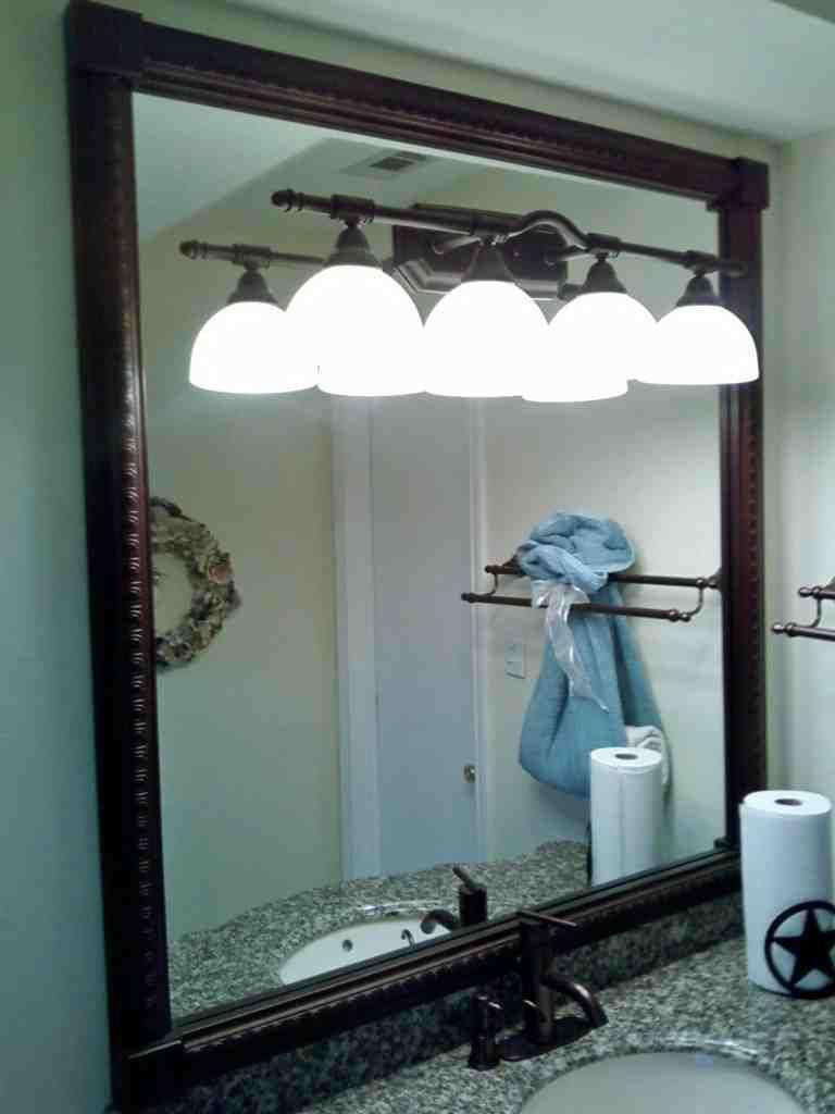 Oil Rubbed Bronze Bathroom Mirror Bathroom Mirrors Pinterest