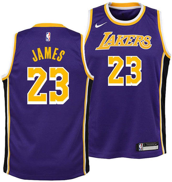 new style 8cdd8 d26e3 Nike LeBron James Los Angeles Lakers Statement Swingman ...