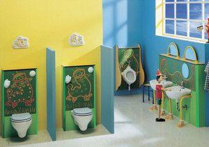 Baños infantiles, ideal para guarderías | Decoración | Pinterest