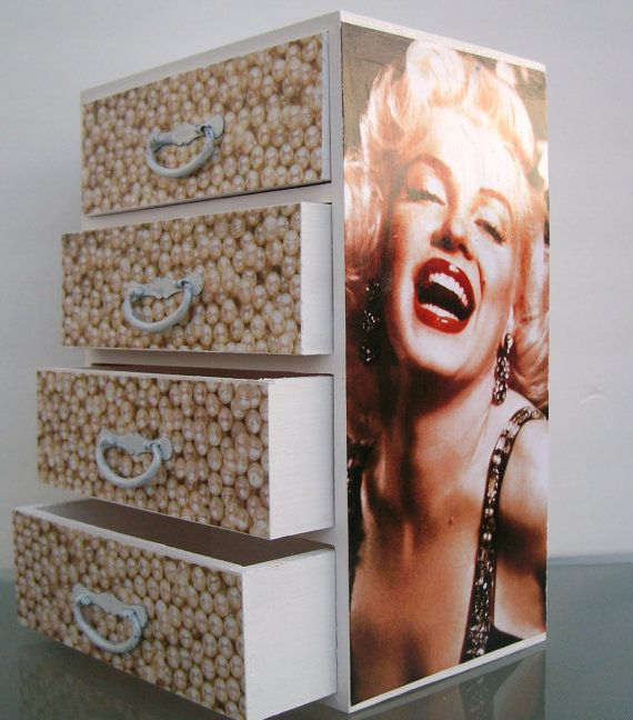 Jewelry Box Marilyn Monroe by StrictlyCute dteam mid century