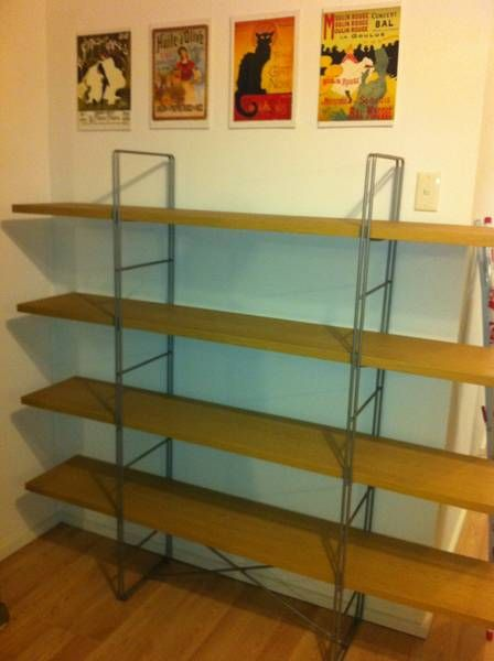 Wooden Shelving Unit Waverley Eastern Suburbs Image 1 $75