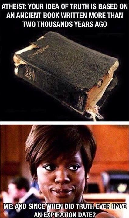 1f3bc1830f7398c47695c833d98e76f7 does truth have an expiration date? christian humor pinterest