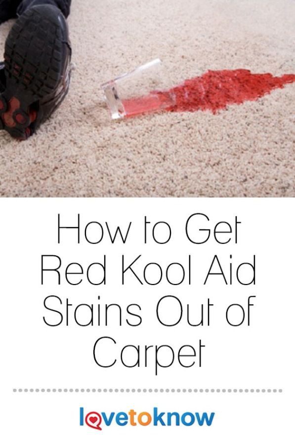 How To Clean Old Kool Aid Stains Out Of Carpet Lets See