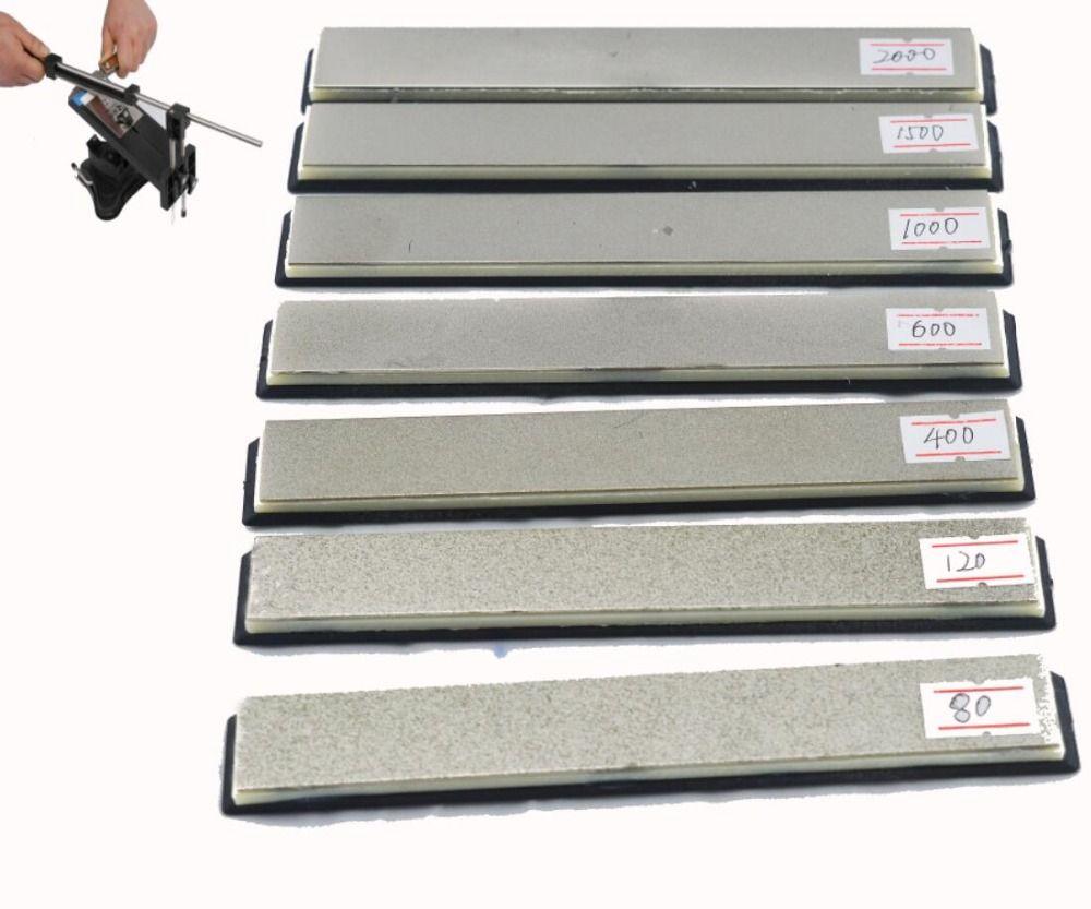 Ruixin Cuchillo Apex specila uso afilador piedra de afilar de diamante 80 120 200 400 600 800 1000 1500 2000 Grit
