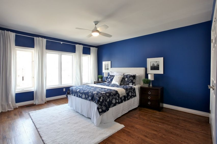 The Boys room paint ideas should be thought well. Cool Blue Bedroom ...