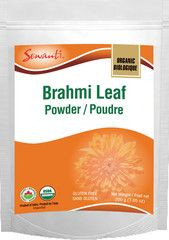#Brahmi Leaf Powder is used as Ayurveda rejuventor to help in mental activity, brain functions & nervous exhaustion. Buy from sewanti.com at $14.99