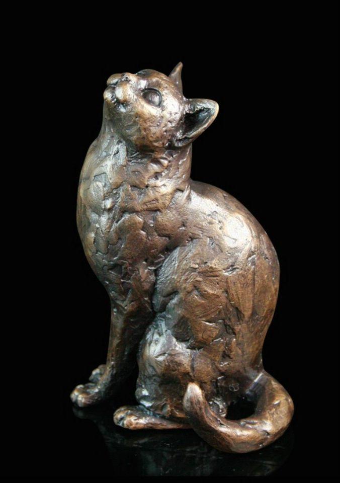 Bronze Cat Sculpture by Michael Simpson