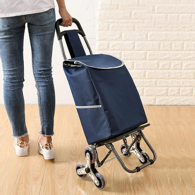 Go upstairs shopping cart small cart luggage trolley