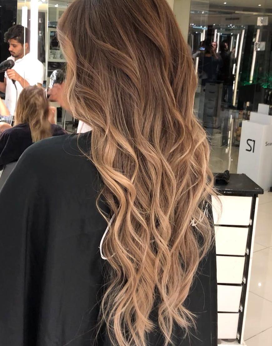 Mocha with hazelnut color mouniiiir haircolor hair