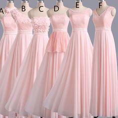 Brautjungfernkleider Rosa Schone Kleider Brautjungfern Kleider Kleider Damen