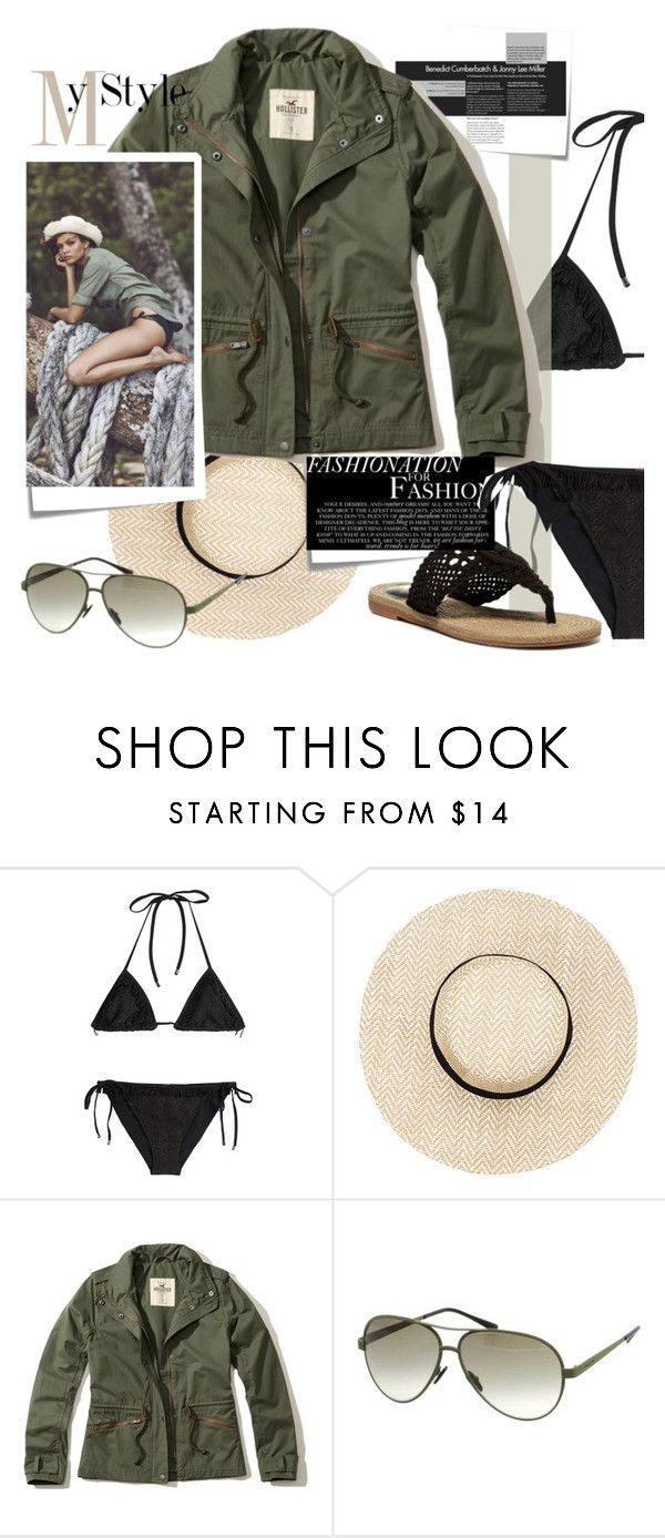 """in late summer"" by marybloom ❤ liked on Polyvore featuring Missoni Mare, Post-It, Hollister Co., Victoria's Secret, Italia Independent and MIA"