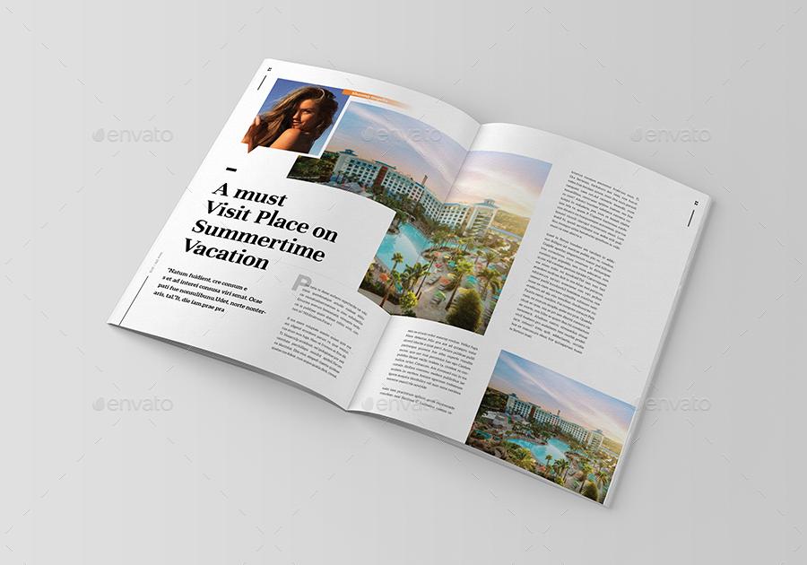 Summer Time Magazine Magazine Template Time Magazine Summer Time