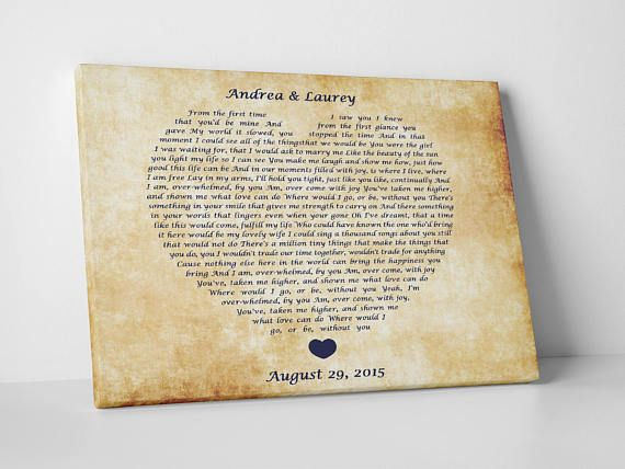 Personalized 7th wedding anniversary gift for husband and | A Board ...