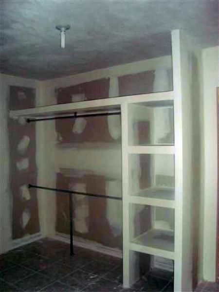 Foto Closet De Tablaroca De Fjr Plaka Comex 2049 Habitissimo Closet De Tablaroca Muebles Con Durlock Interiores De Placard