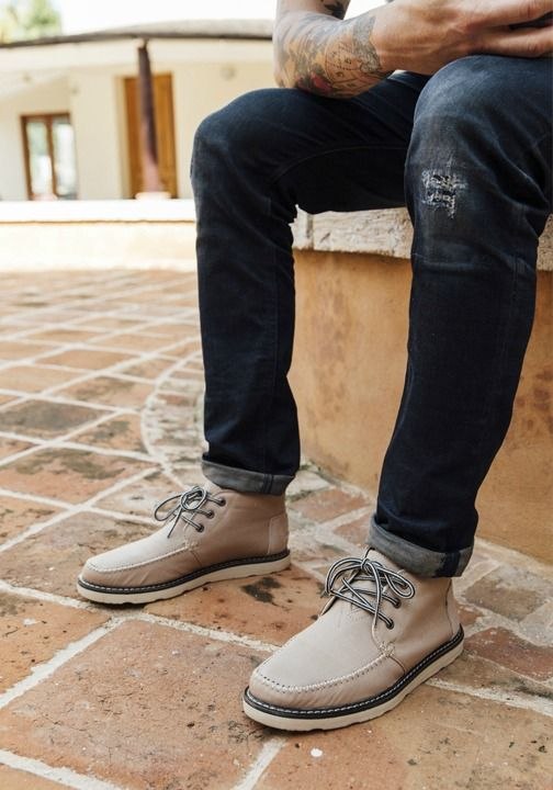 TOMS Chukka Boots are sure to fit your lifestyle.   For the Dudes ...