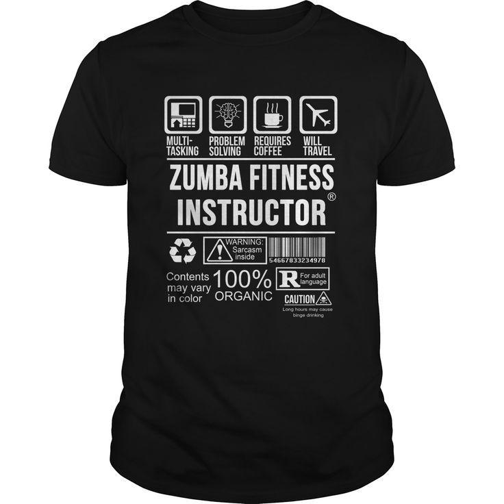 Zumba Fitness Instructor  T Shirt - #fitness #Instructor #Shirt #Zumba