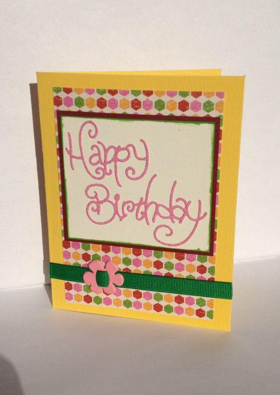 Happy Birthday Card By Lovemanifested On Etsy 500 Love